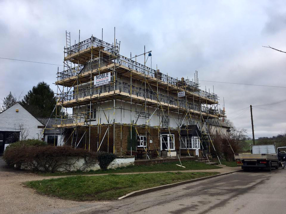 Construction Scaffolding | Scaffold Contractors Northampton | Noble Scaffolding Ltd