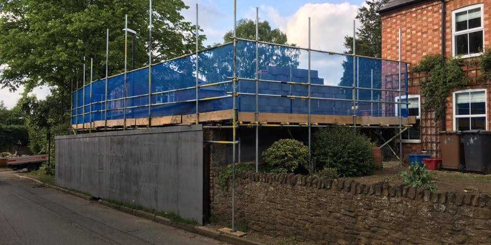 Domestic Scaffolding in Northampton | |Domestic Scaffolding Northampton | Scaffold Contractors Northampton | Noble Scaffolding Ltd